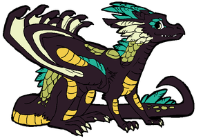 Dragon Adoptable 001 (CLOSED) by unnatural-adopts