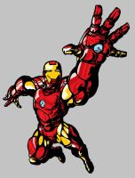 new IRON MAN colors by Hopeyouguessedmyname