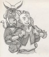 Aang goes on tour XD by Beniak