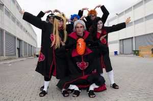 Naruto's Akatsuki 3 - New Pose by LadyGrell93