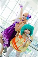 Sheryl Nome and Ranka Lee by WhenWasThisTaken