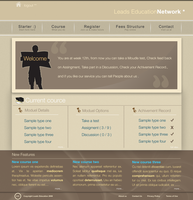 Leads Academy web page4 by decolite