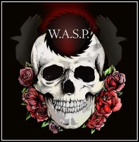 Skull,Roses n Ravens No.2 by WASP-Deviations