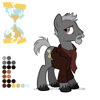 Reference Sheet: The War Doctor by LissyStrata
