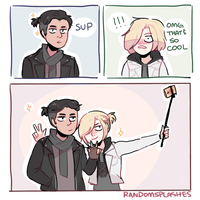 YOI: HANGING OUT by Randomsplashes