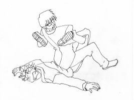Vash and Wolfwood by tenroh