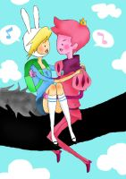 AT-GUM GUM X FIONNA by DreamaMoonlight