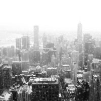 chicago under snow by QUEEN-OF-LONELESS