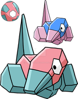 137 - Porygon - Art v.2 by Tails19950
