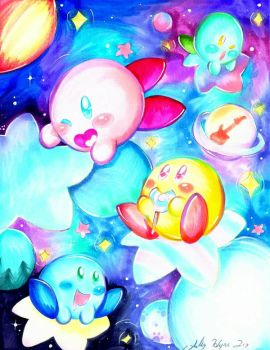Kirby by SilverDreams7