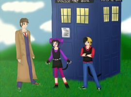 The Doctor and the Brats by ThatSecksyBrat