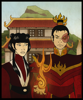 Fire Nation Gothic by Booter-Freak
