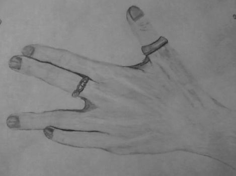 my hand by IronicTraveler