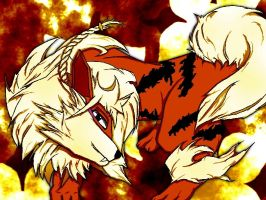 Angered Arcanine by Ambience19