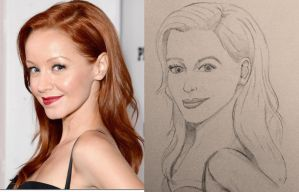 Lindy Booth by Ayohna