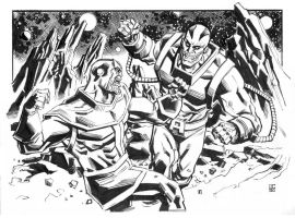 Thanos Vs. Apocalypse by deankotz