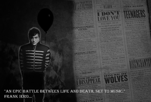 Frank Iero Black Parade era by pearlandfrog13