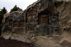 Caunas Rock Tombs by rbnsncrs