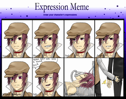 Expression Meme: Axal by Inupii