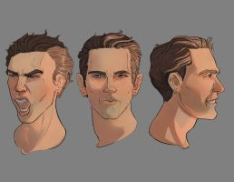 Tony Portraits by dosymedia