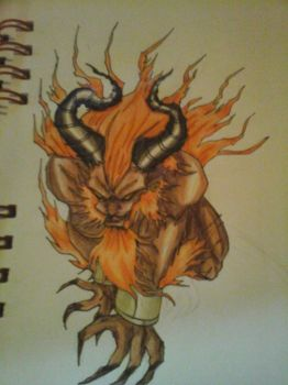 IFRIT 2 by RyuseiTenma