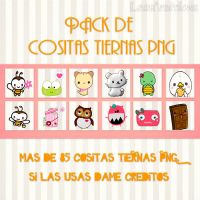Photopack #5 de Cositas Tiernas Png by LeahEditiions