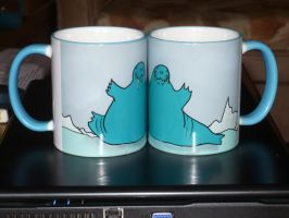 browalrus cups by NatanarihelLiat