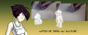 Watch Me Draw by Huispe