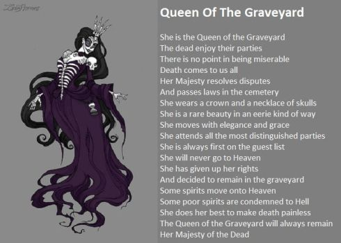 Queen Of The Graveyard by demonrobber
