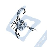 Tribal Scorpion by Erotic-sigh