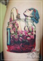 Jam Girl Tattoo by iseeyoursky