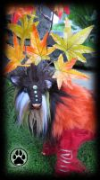 SOLDMaple the autumn caribou poseable artdoll OOAK by CreaturesofNat