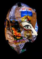 crumpled paper portrait 6 by April-Mo