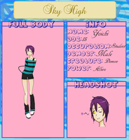 .NEW. Yoichi SkyHigh App. by Caitie-chan
