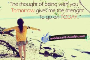The thought of being with you by nikkilexgaskarth