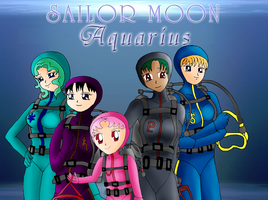 Sailor Moon Aquarius WP 2 by ZeFrenchM