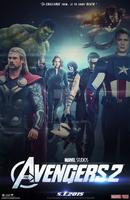 The Avengers 2 (FAN-MADE) Teaser Poster by DiamondDesignHD