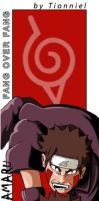 Kiba and Akamaru Bookmark by Tionniel