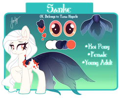 Sanke Reference Sheet by Picklesquidly