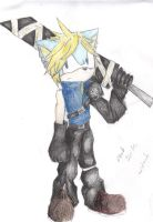 cloud strife by Maroonz80