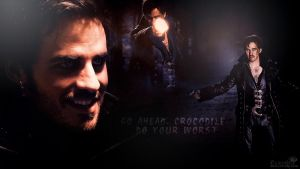 Captain Hook / Killian Jones wallpapers by Venerka