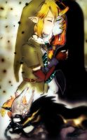 Link and Midna Kiss by VampiSOAD
