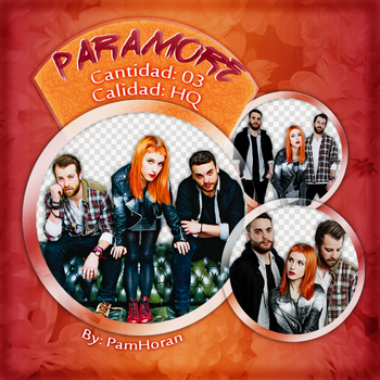 Photopack PNG / Paramore / 27 by PamHoran