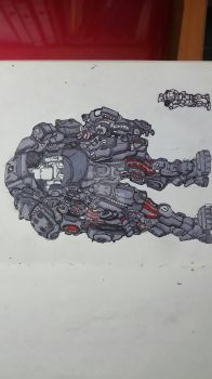 Mountable Mech by Raywolfgang