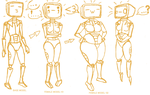 Robots Can Have Curves Too by AlternativeMethods