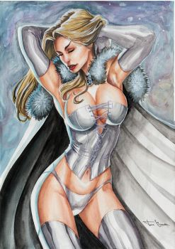 White Queen - Emma Frost by TonLima19