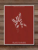 Minimalist Posters: Iron Maden by LucasBariani