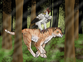 Forest Run- Contest Entry by ForestGlade