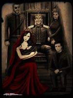ROYAL SHAFARRUN FAMILY POTRAIT by amirulhafiz
