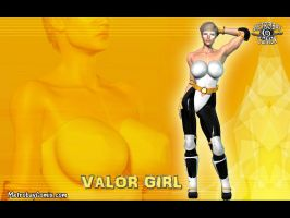 Valor Girl wallpaper by Doctor-Robo